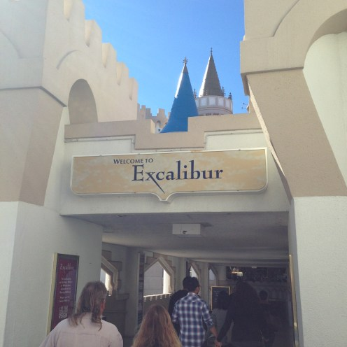 Entrance to Excalibur