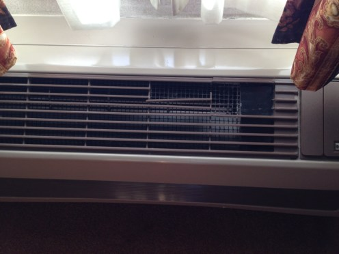 A/C unit wear and tear