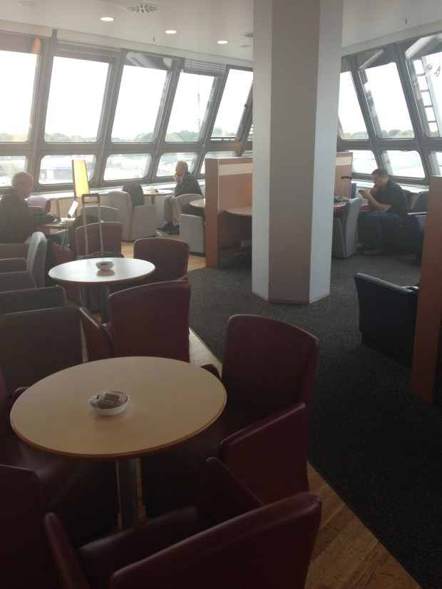 Air France lounge seating area