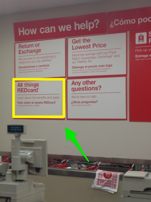 All things REDcard... except credit card reloads