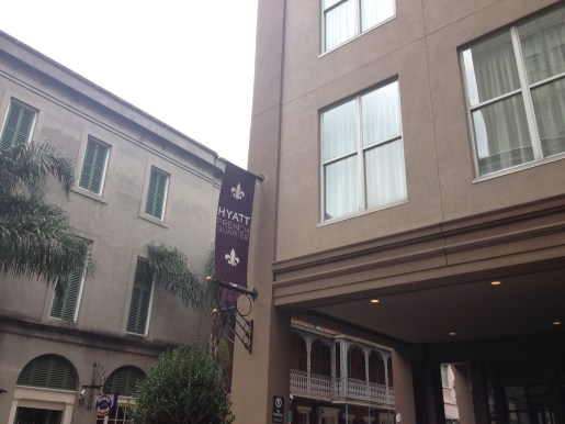 Hyatt French Quarter exterior