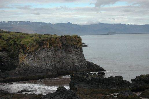 Knife-edge cliffs