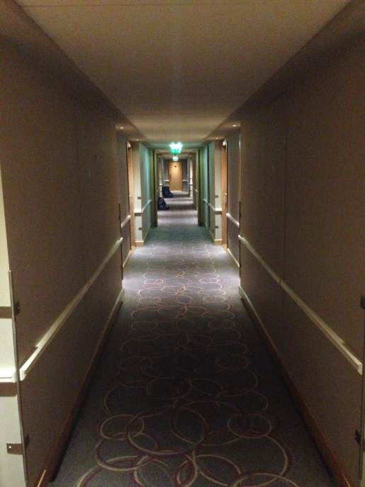 Hallways of the Radisson Blu Galway