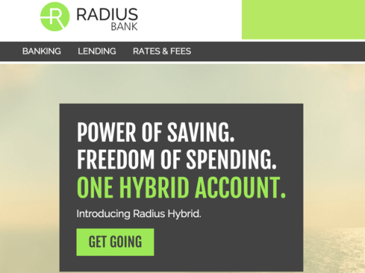Radius Bank has a really similar account