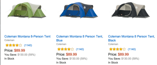 Go camping!