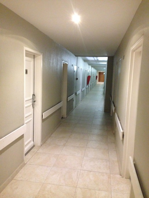 Hallways of Hotel La Pagerie