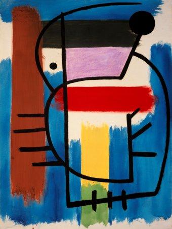 "Miro's ""Seated woman,"" 1931"