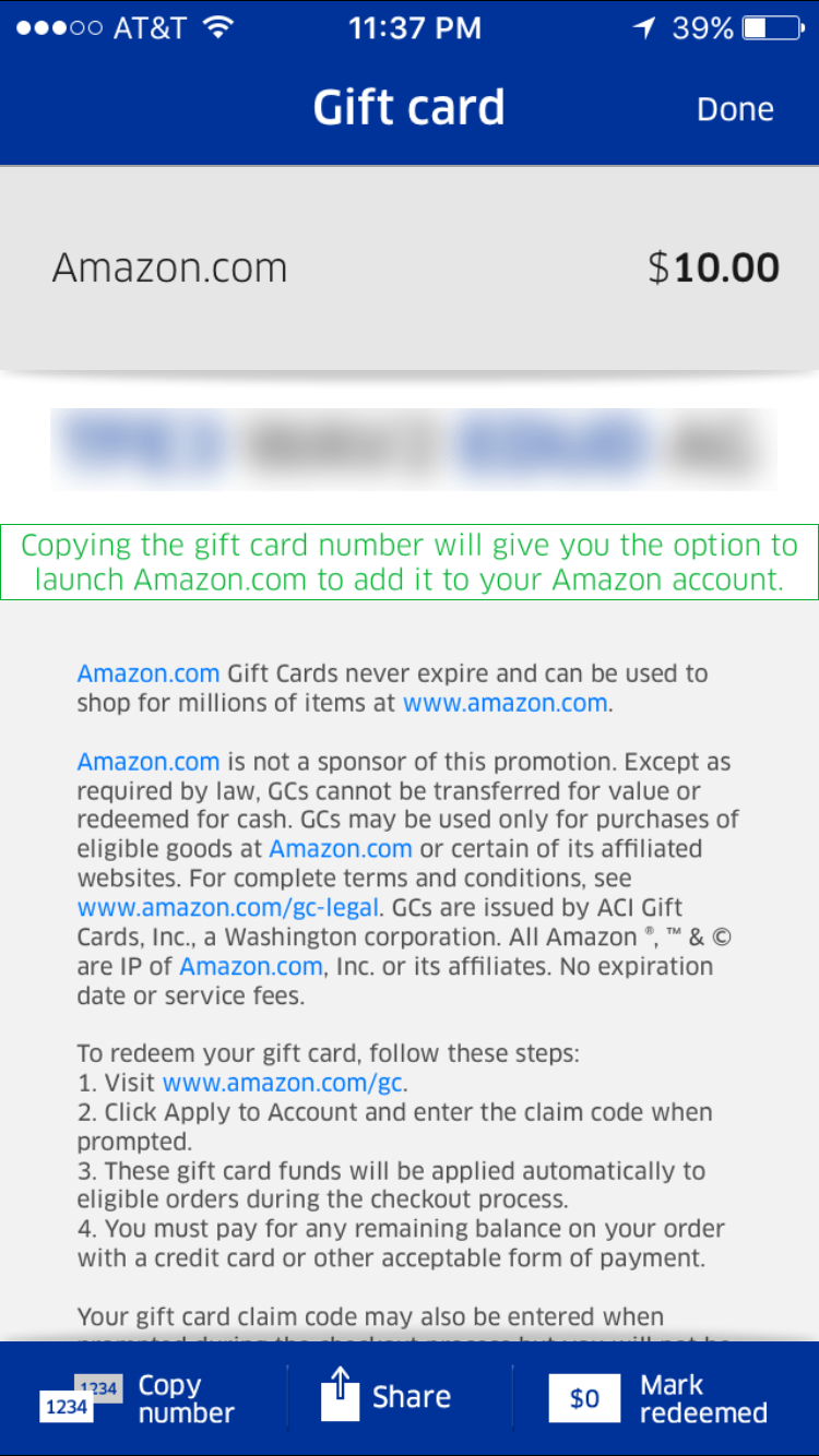 Pay outs as low as 1 for amazon gift card minimum of 10 for - Mah Code