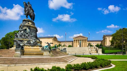 Wanna visit the Philadelphia Museum Of Art