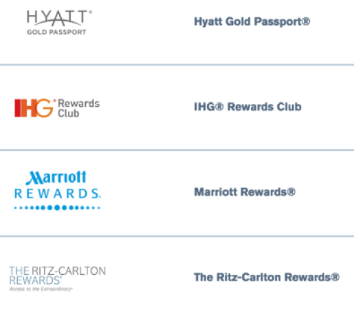 Chase Hotel Transfer Partners
