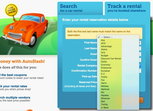Track most car rental reservations via Autoslash and get an alert if the price drops