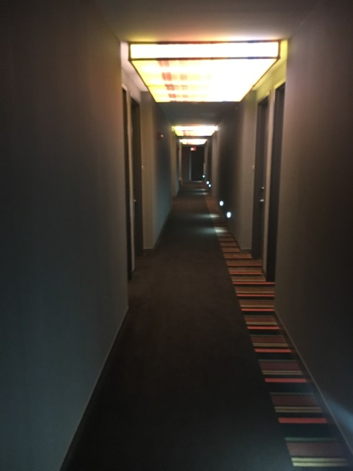 Hallways of the Aloft Winchester
