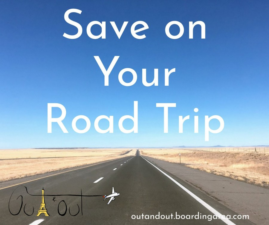 ways to save on road trips
