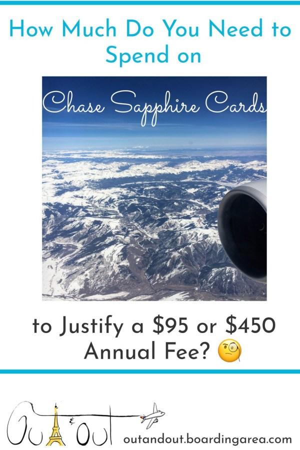 chase sapphire annual fee