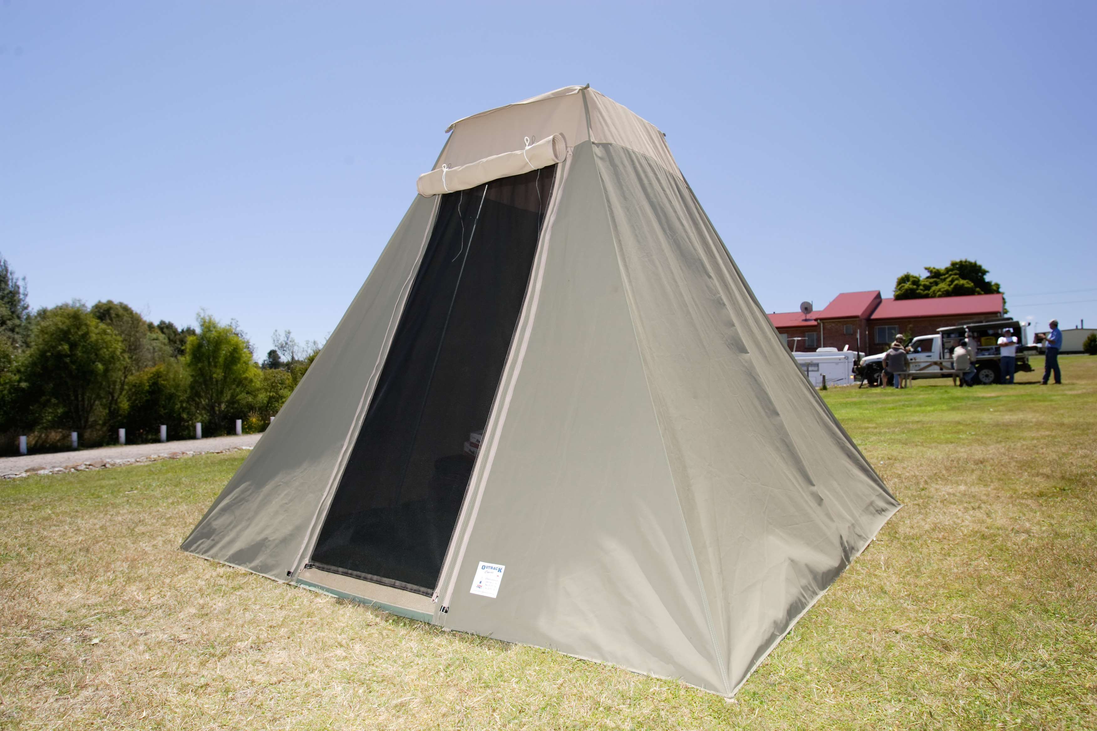 Canvas Tents Australia & Diamantina Hacienda