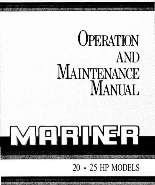 MERCURY MARINE 4&5HP 4-Stroke Operation & Service Manual