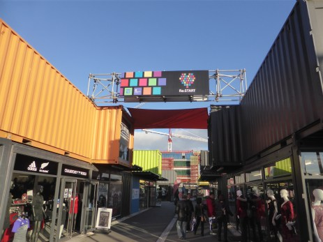 Re:START - Shipping container mall