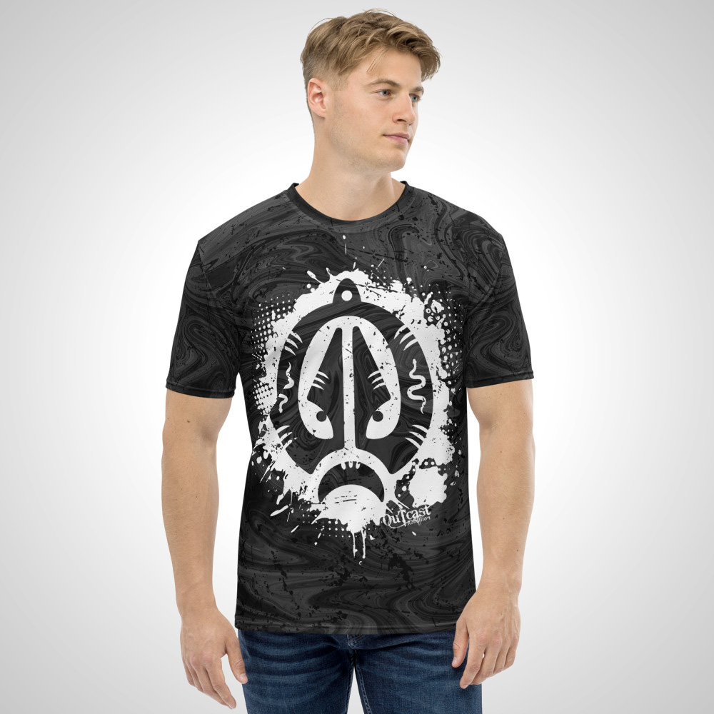 Ban Jyang Tribal All Over Printed T-Shirt by Outcast Rebellion Front