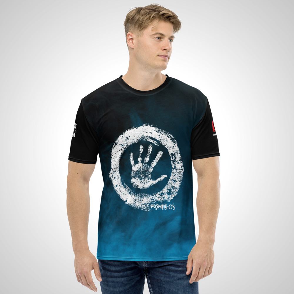 Pushing Os All Over Printed T-Shirt by Outcast Rebellion Front