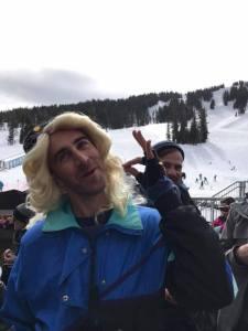 LGBTQ Ski Weekend Mt Bachelor Wig