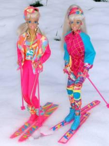 Ski Barbie