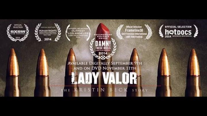 Lady Valor: The Kristin Beck Story - Q&A movie poster Bend Oregon