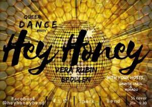 Hey Honey Poster