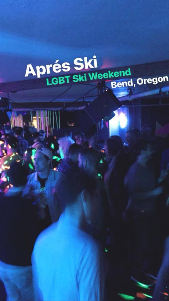 Hey Honey Apres Ski LGBTQ Ski Weekend Poster