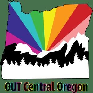 oco logo starburst rainbow over mountains