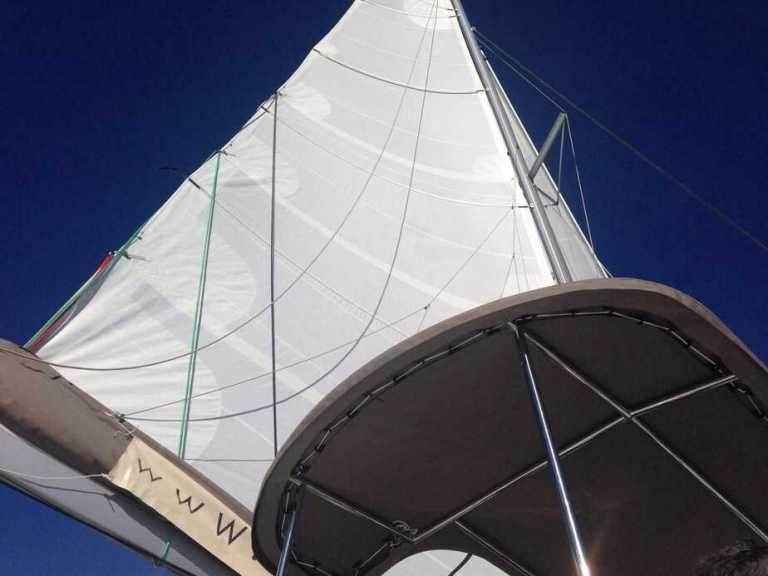 Helia Test Sail
