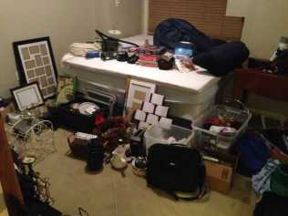 So much stuff to get rid of! Yikes!