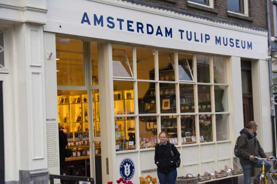 Amy at Tulip Museum