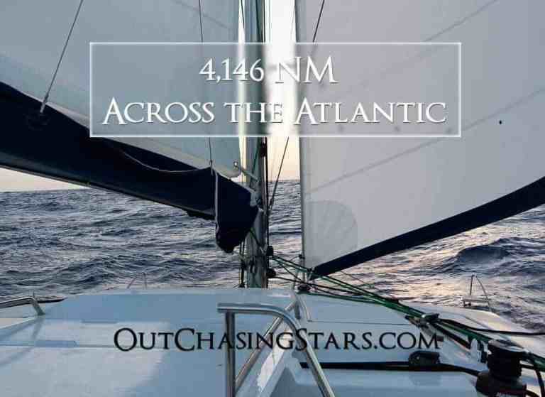 4,146 NM Sailing Across the Atlantic