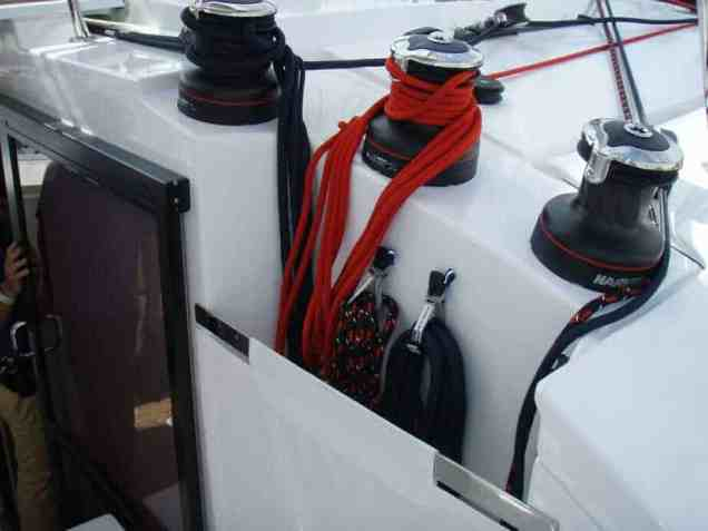 Helia Factory Helm Winches