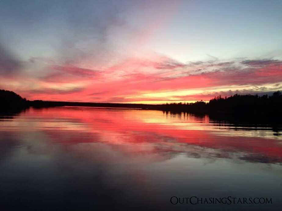 Ebenecook sunset