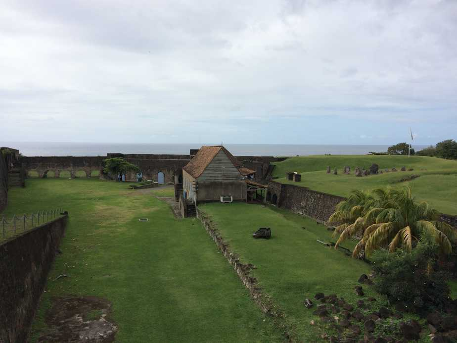 Fort Louis Delgrès in Basse-terre, Guadeloupe.