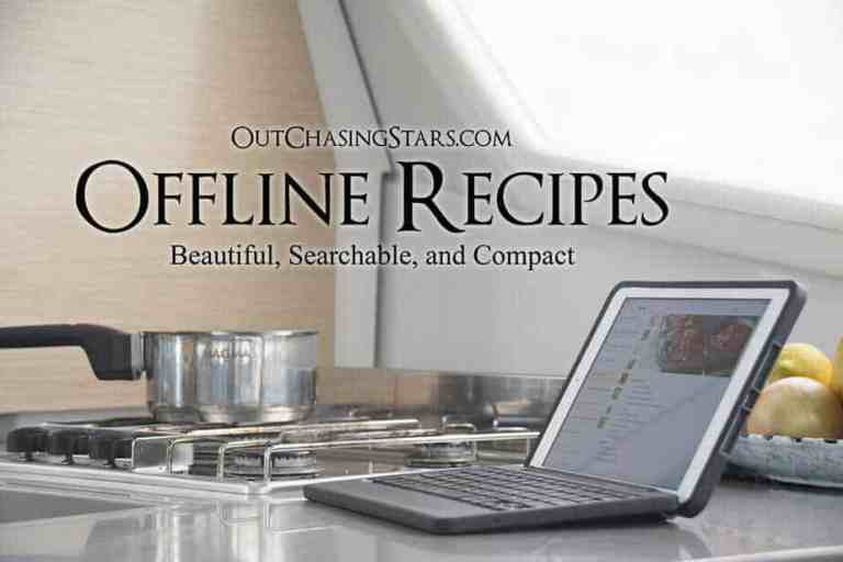 Saving Recipes Offline