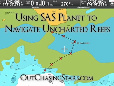 SAS Planet: How to Navigate Uncharted Reefs