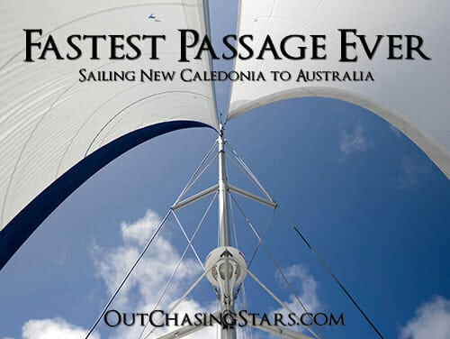 Sailing New Caledonia to Coffs Harbour