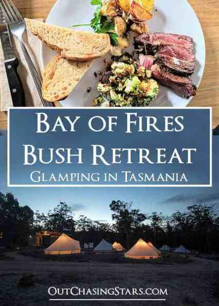 Bay of Fires Bush Retreat Pin