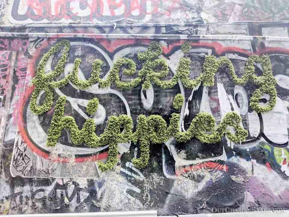 Fucking Hippies Melbourne Laneway Street Art