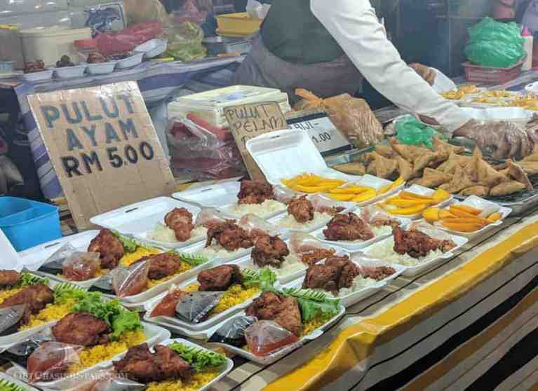 Langkawi Night Market: Malaysian Street Food