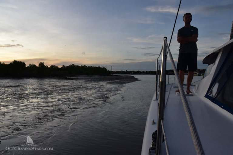 Clearing in to Satun, Thailand: Stuck in the Mud