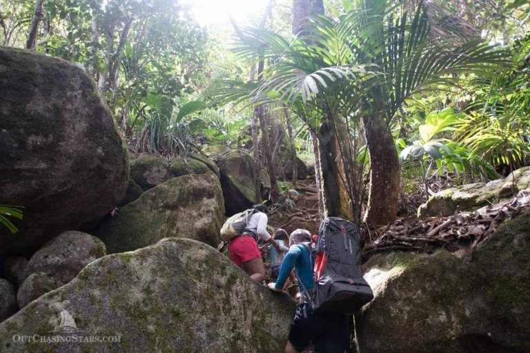 Hiking the Copolia Trail in Mahe, Seychelles