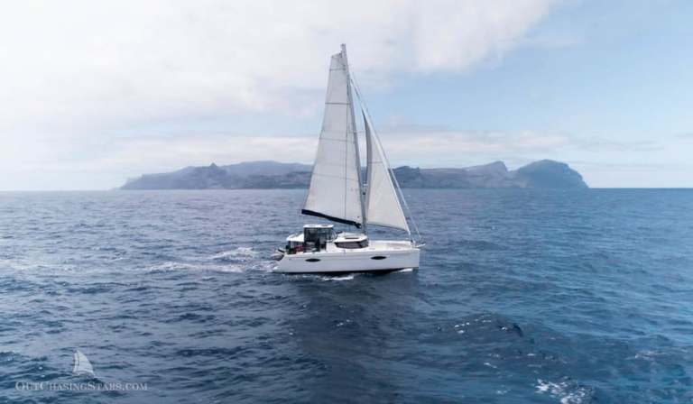 Sailing to Saint Helena