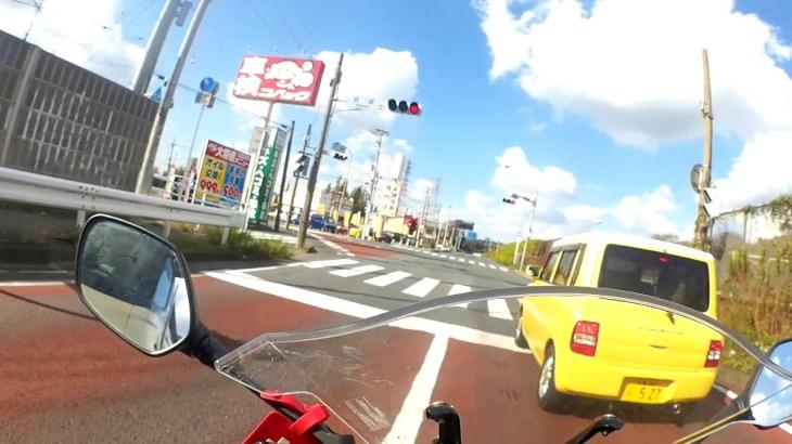 CBR650F 袖ヶ浦サーキットツーリング、帰り 千葉市村田―穴川R16