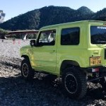 競争ジムニーキャンプ JCJ JIMMY CLUB OFF JAPAN 2018Competição de Jimny