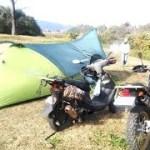 さぁ、旅に出よう!無料キャンプ場紹介「宮原キャンプ場」編バイクツーリングキャンプ