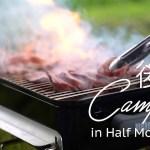 ハーフムーンベイでキャンプ  後編 トレイル、肉を焼く、強風 Half Moon Bay Camping in サンフランシスコベイエリア