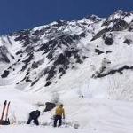白馬大雪渓キャンプ